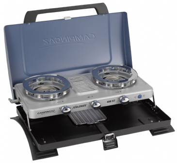 Campingaz 400-ST Double Burner & Toaster Portable Camping Stove